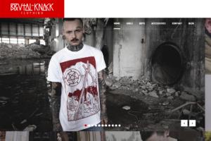 Brutal Knack Clothing - Online Shop, Shopware 5