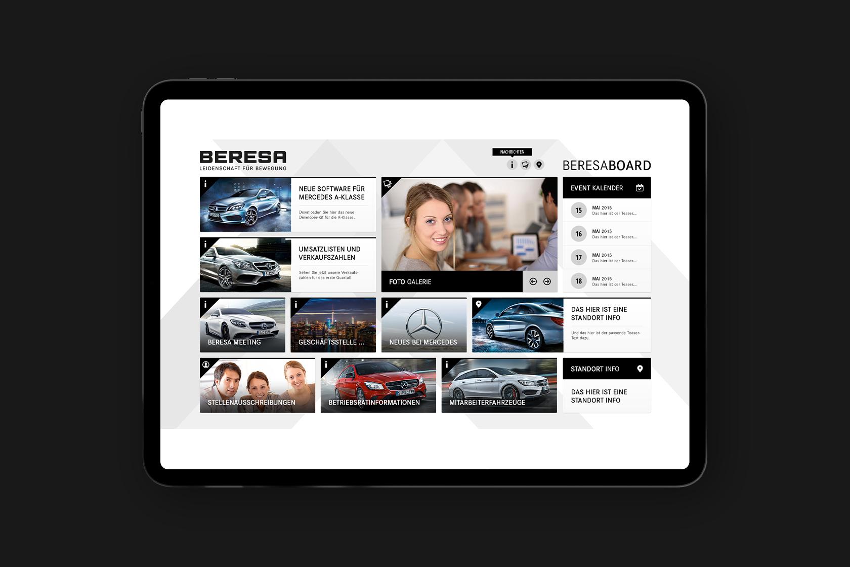 Website von Beresa