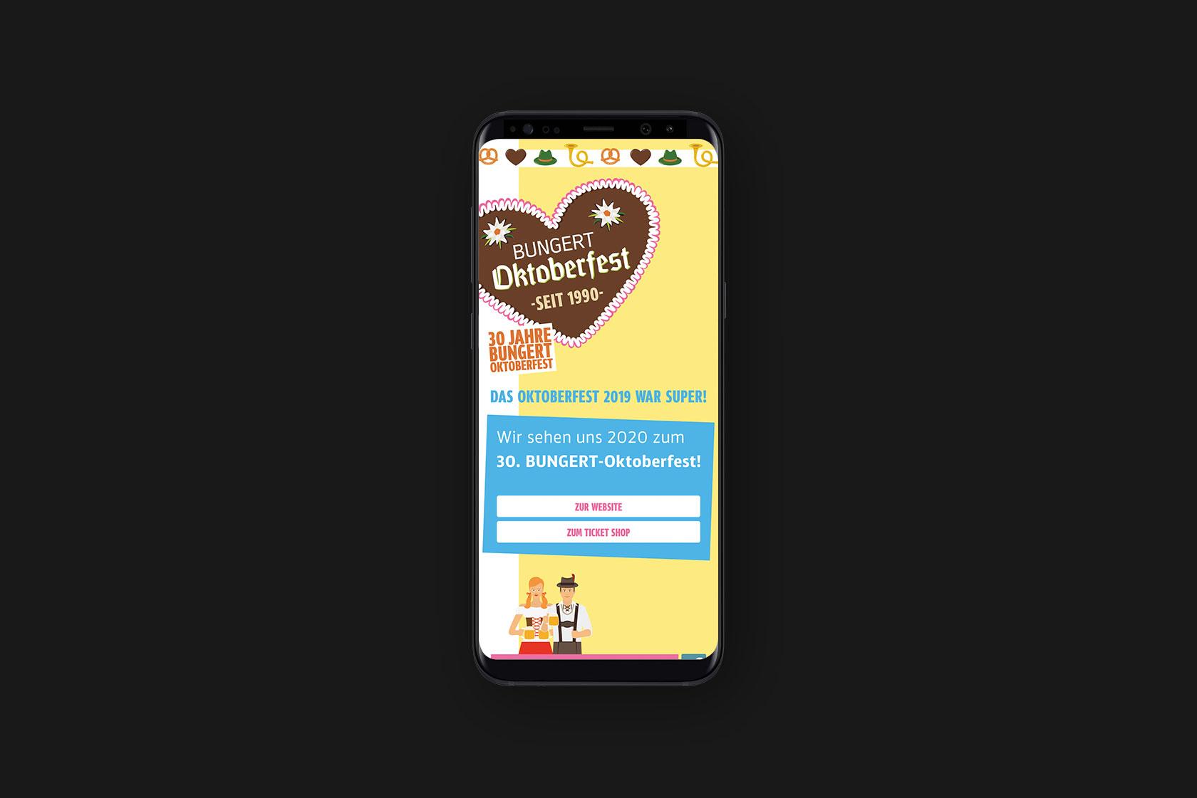 Responsive Webdesign für Oktoberfest Wittlich