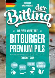 Der Bitling, Flyer, Printdesign