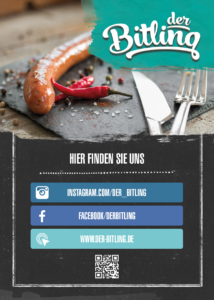 Der Bitling, Flyer, Printdesign