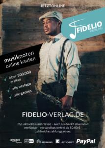 Fidelio Verlag, Poster, Printdesign