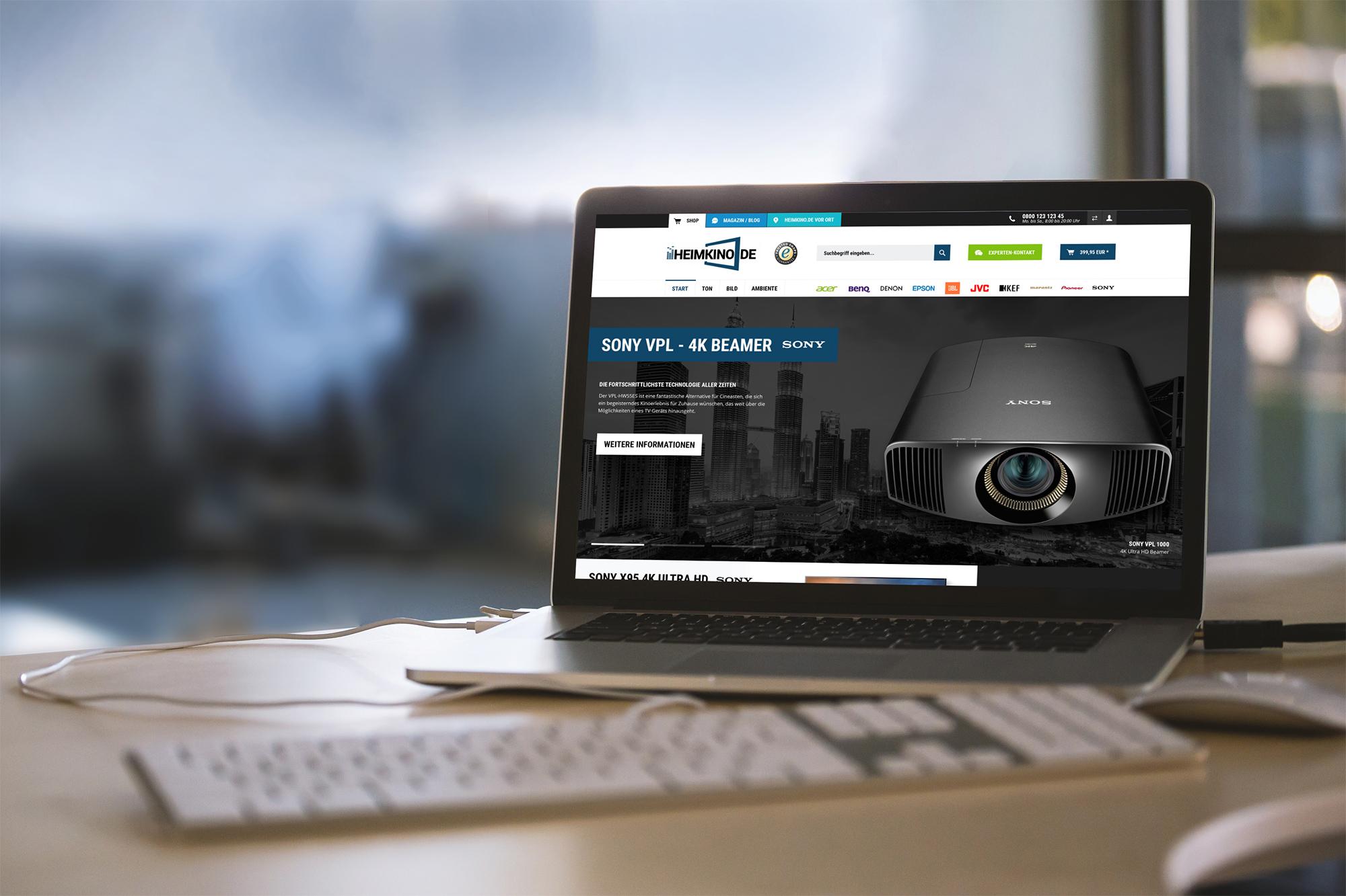 Heimkino.de, Shopware 5 Entwicklung