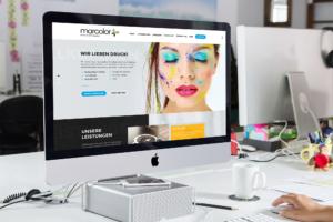 marcolor, Webdesign und WordPress Entwicklung