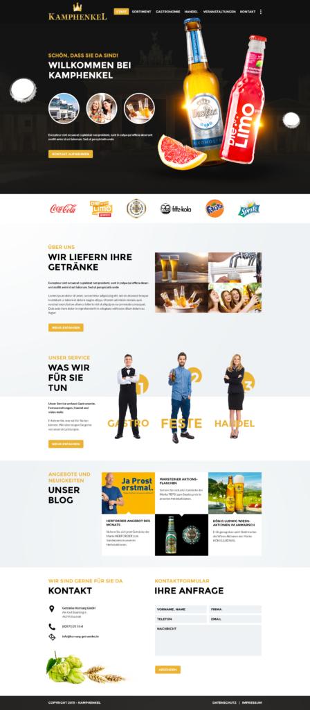 new media labs - Unsere Arbeit: Warsteiner Distribution