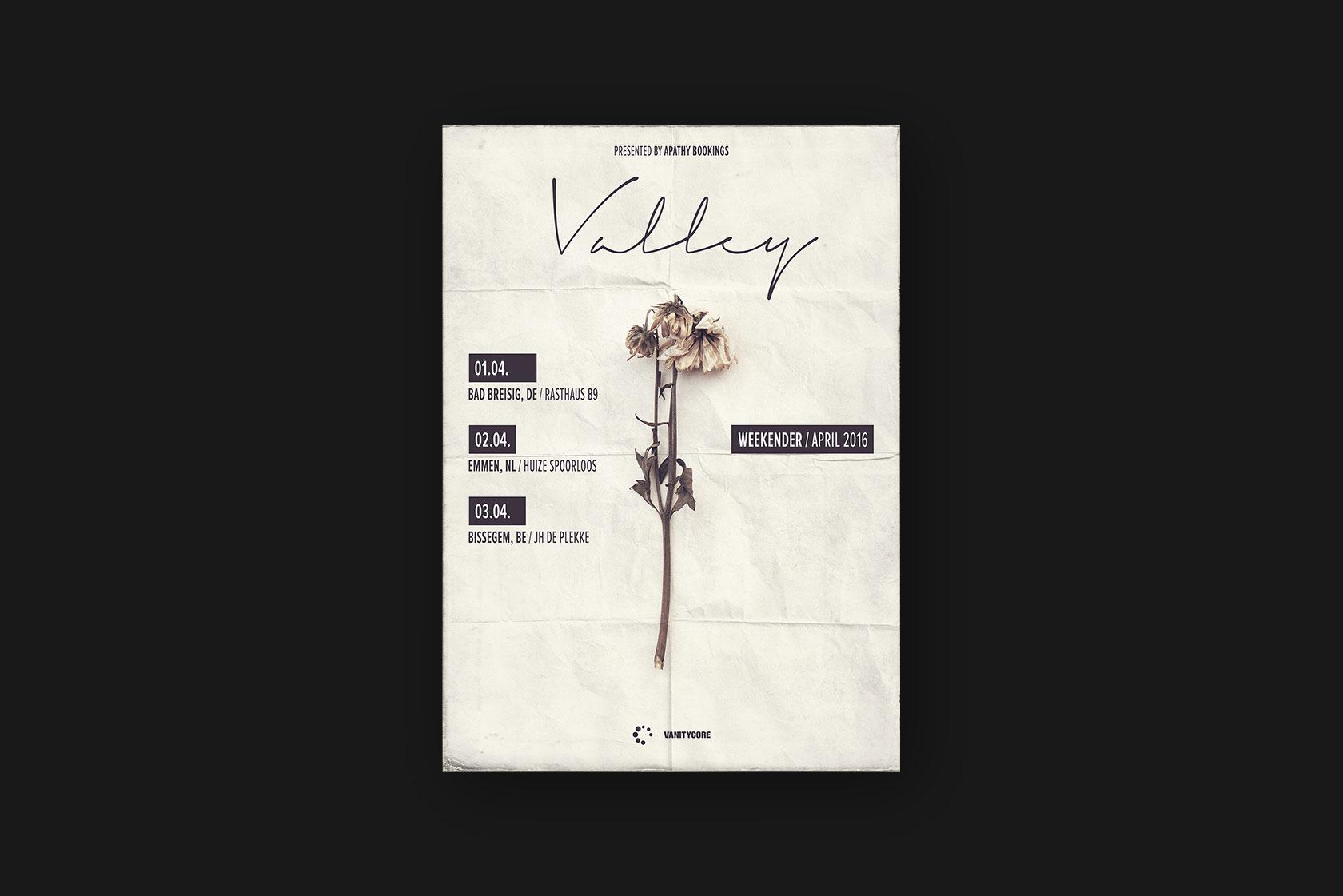 Printdesign für Valley