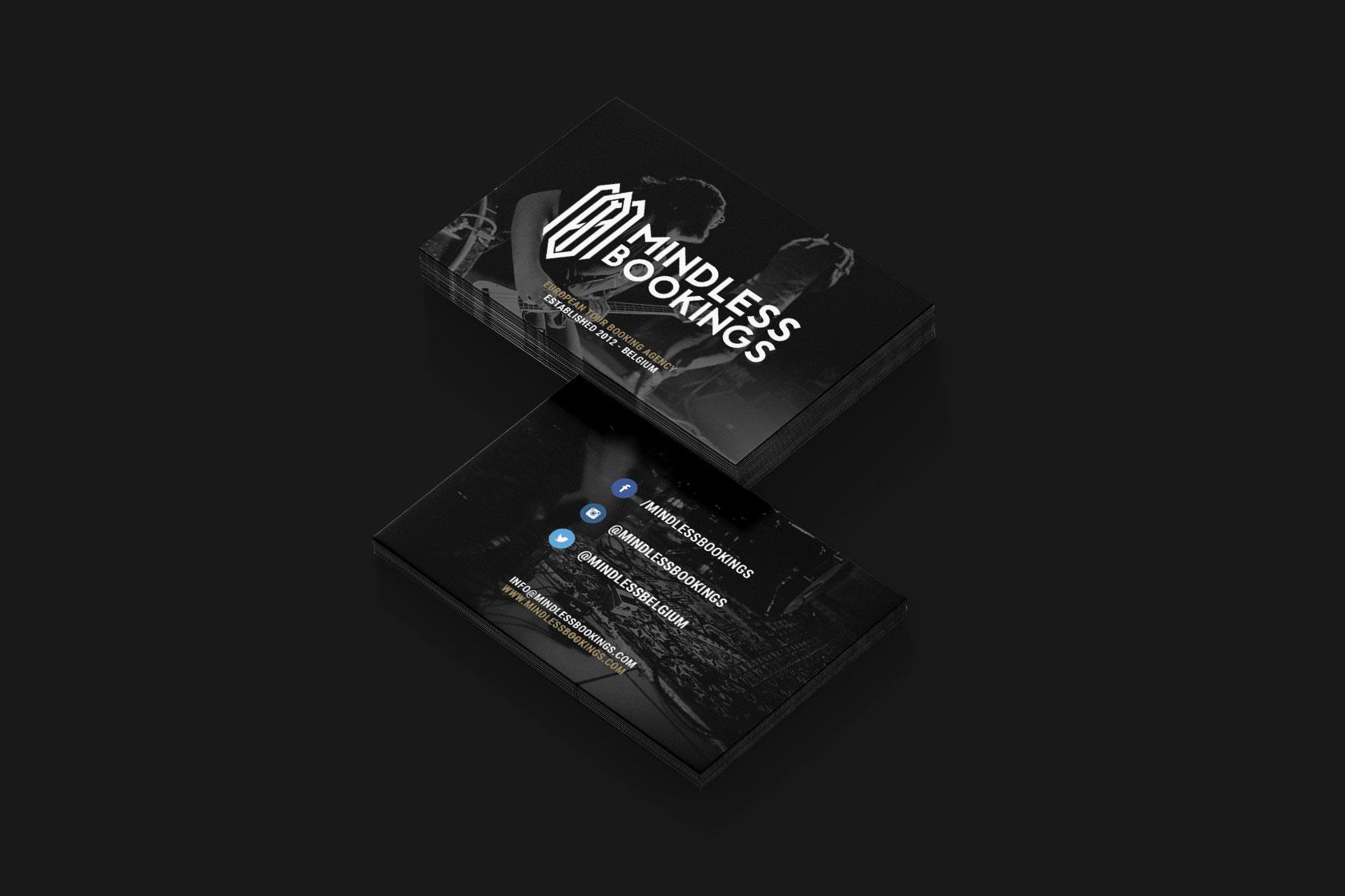Visitenkarte von Mindless Bookings