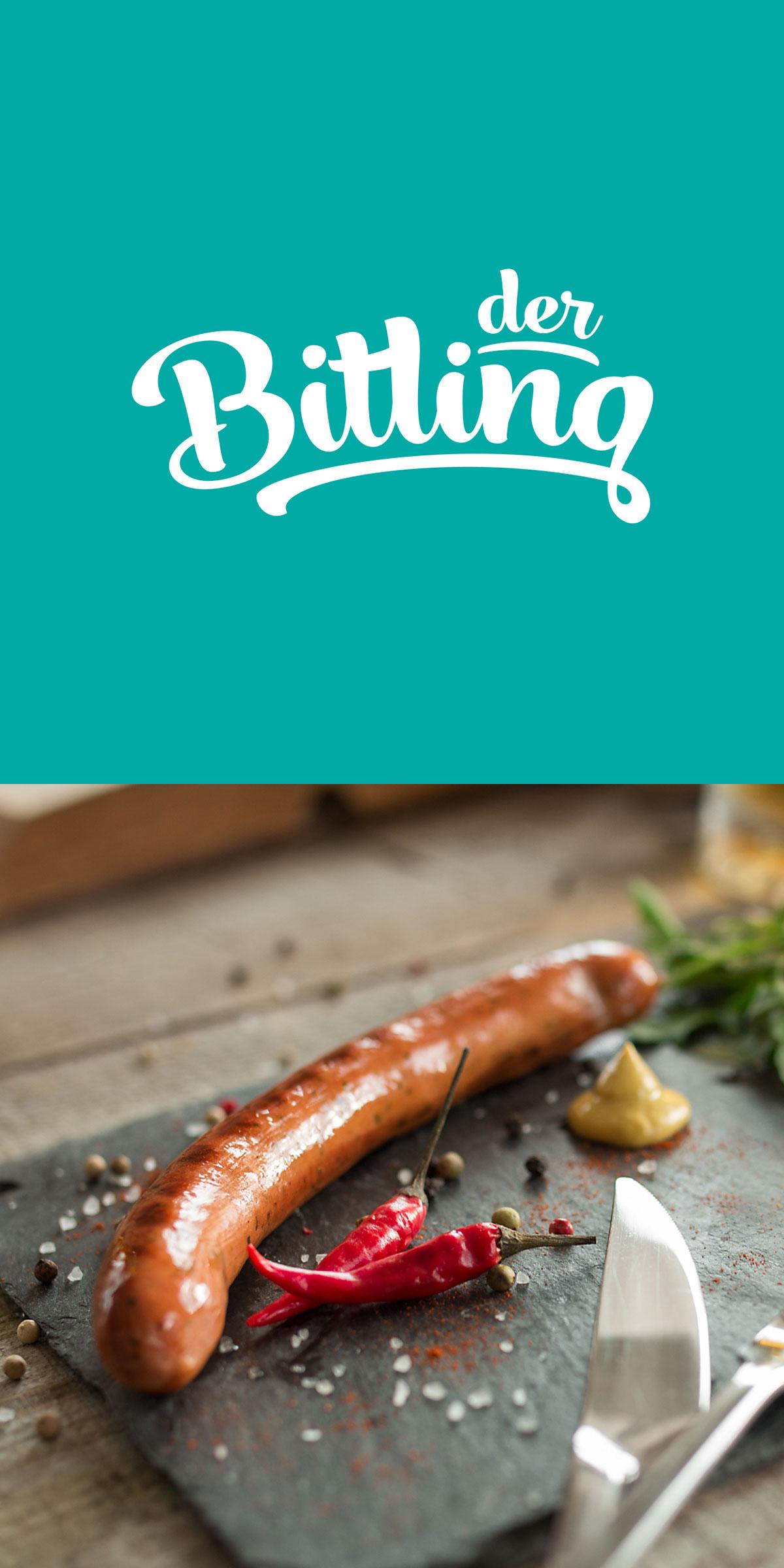 Der Bitling - Die Wurst mit Bitburger Bier Geschmack