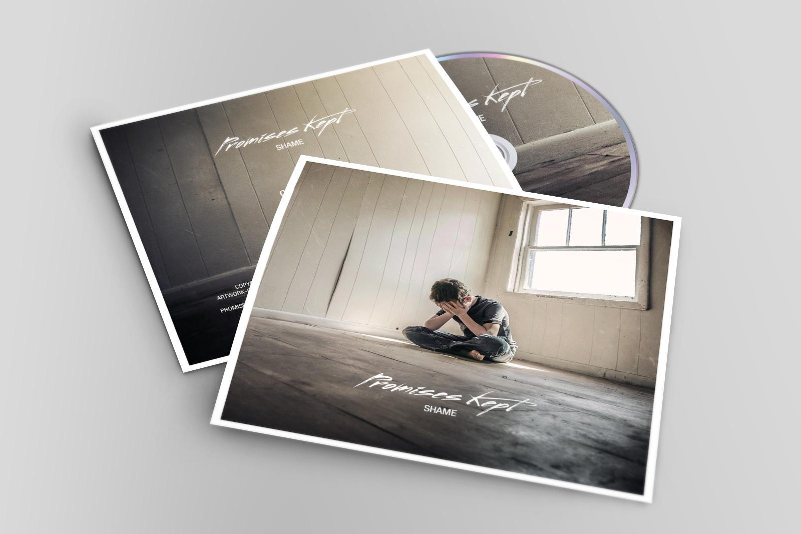 Promises Kept, CD Artwork, Shame