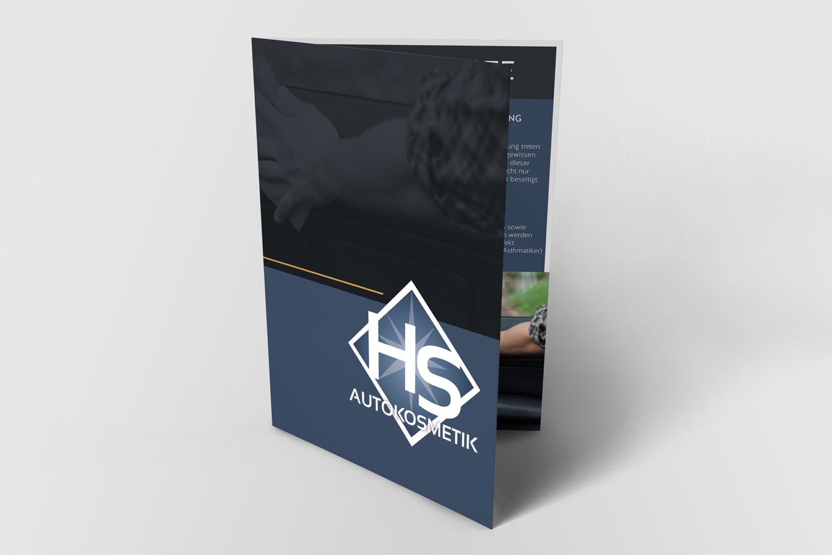 HS Autokosmetik, Webdesign, WordPress und Printmedien