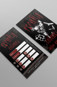 Freaky Colours Tattoo, Banner, Plaket und Flyer