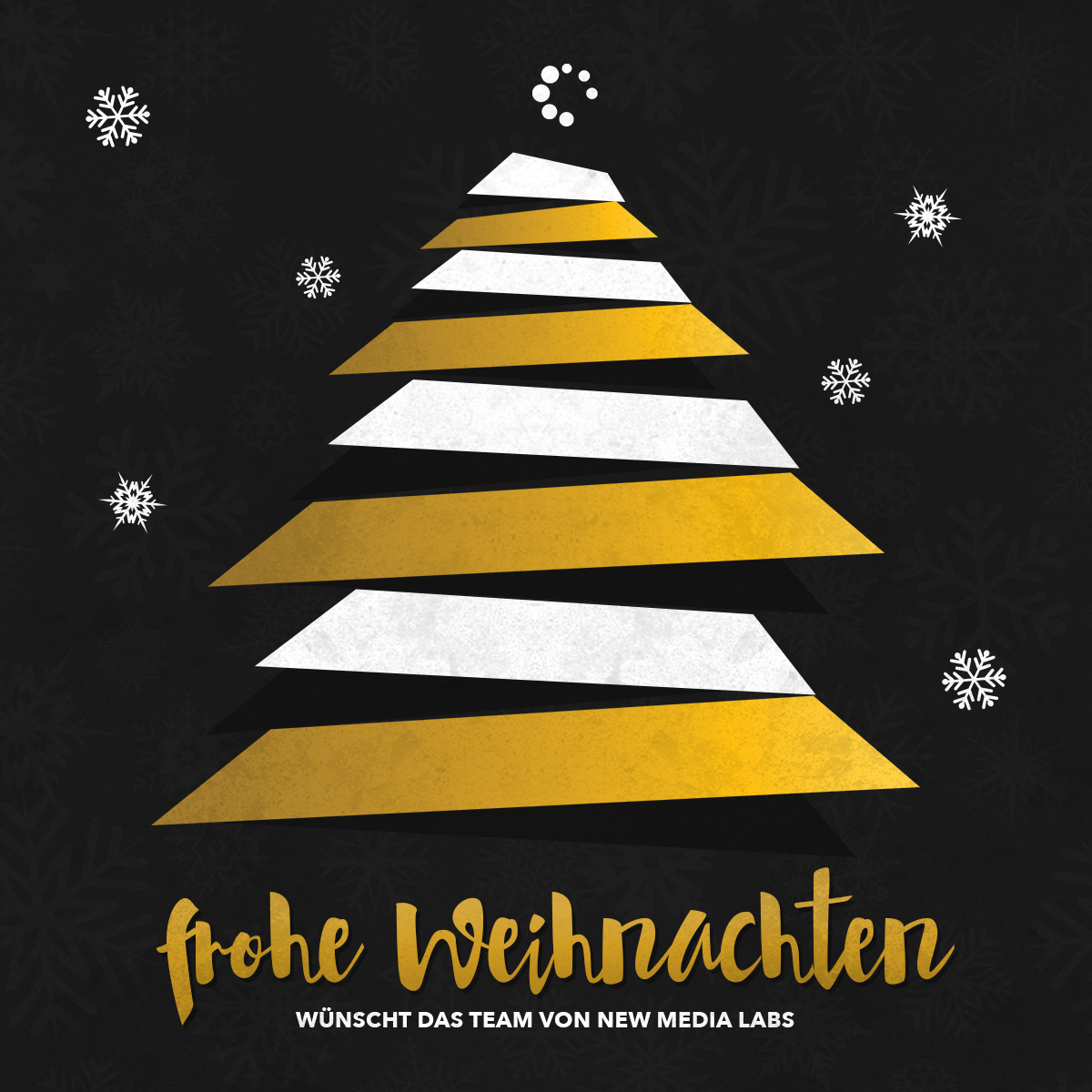 new media labs wünscht frohe Weihnachten