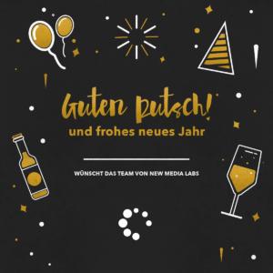 new media labs wünscht ein frohes neues Jahr!