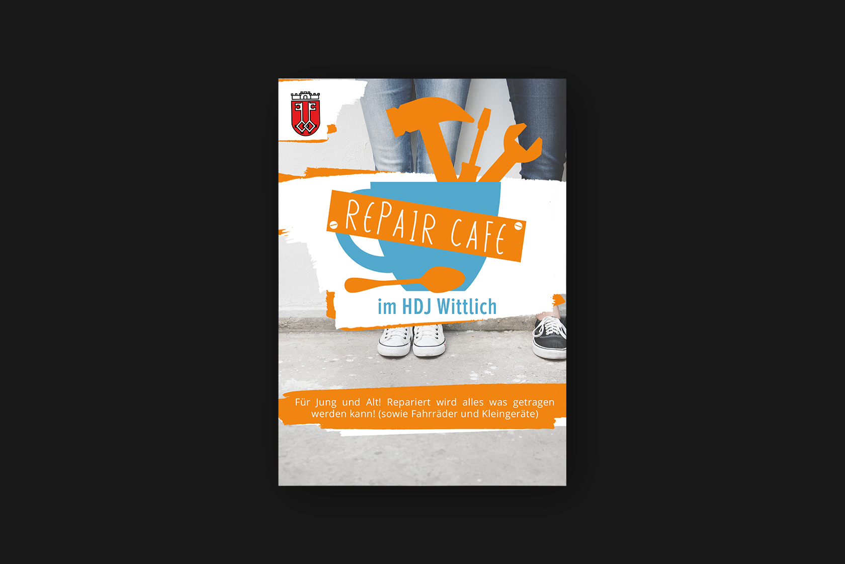 Design der Poster für das Haus der Jugend in Wittlich
