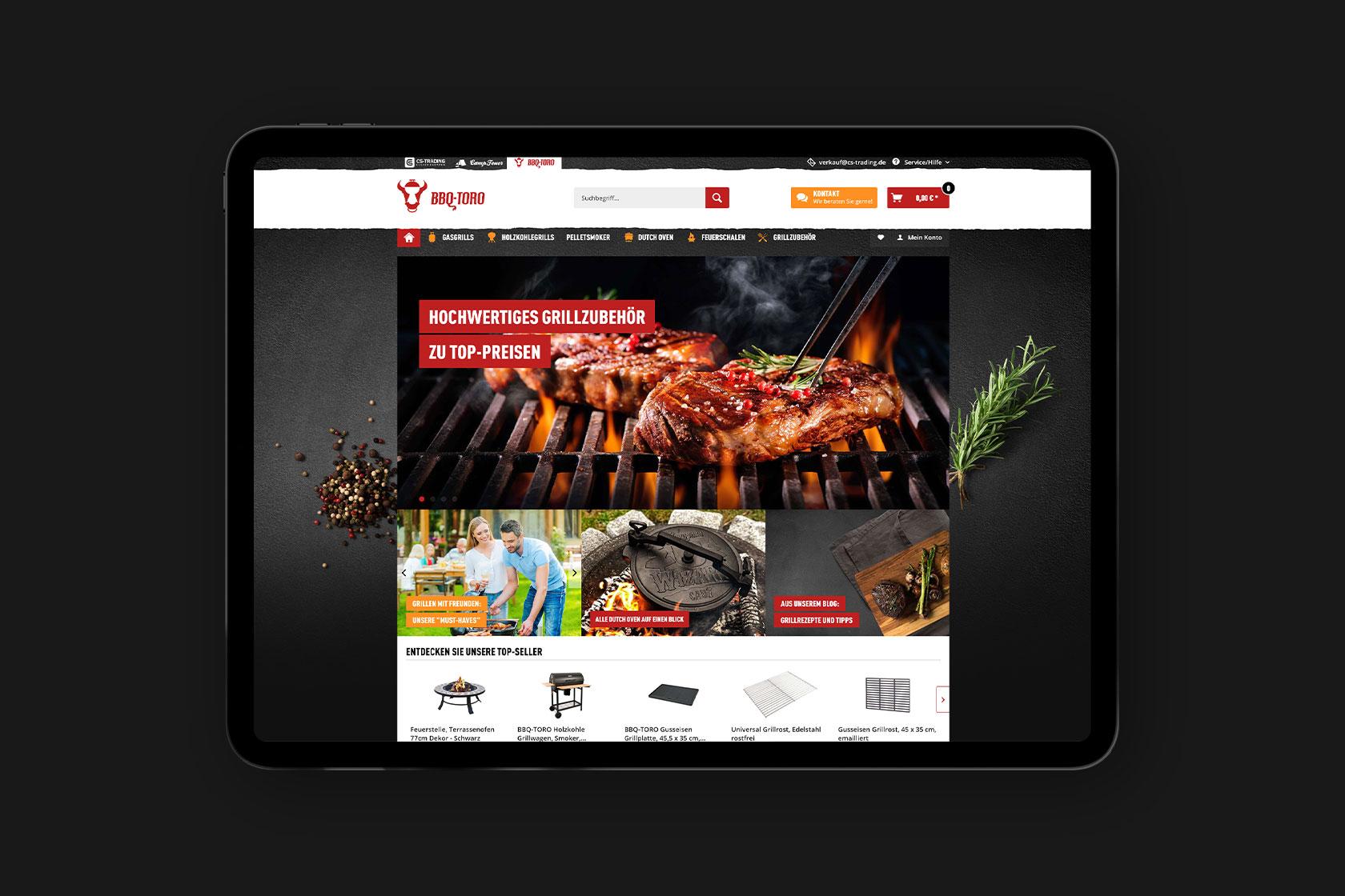 Webdesign für die CS-Trading GmbH & Co. KG aus Brauneberg