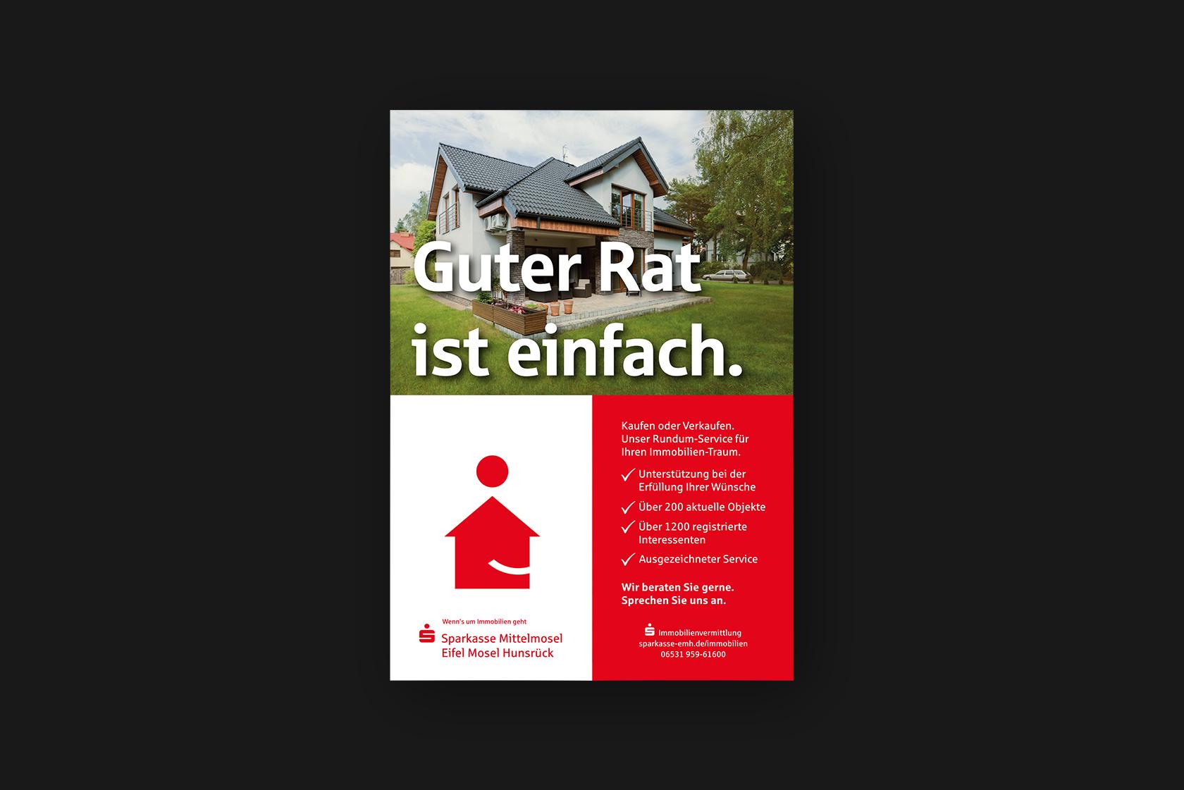 Poster für Sparkasse Mittelmosel