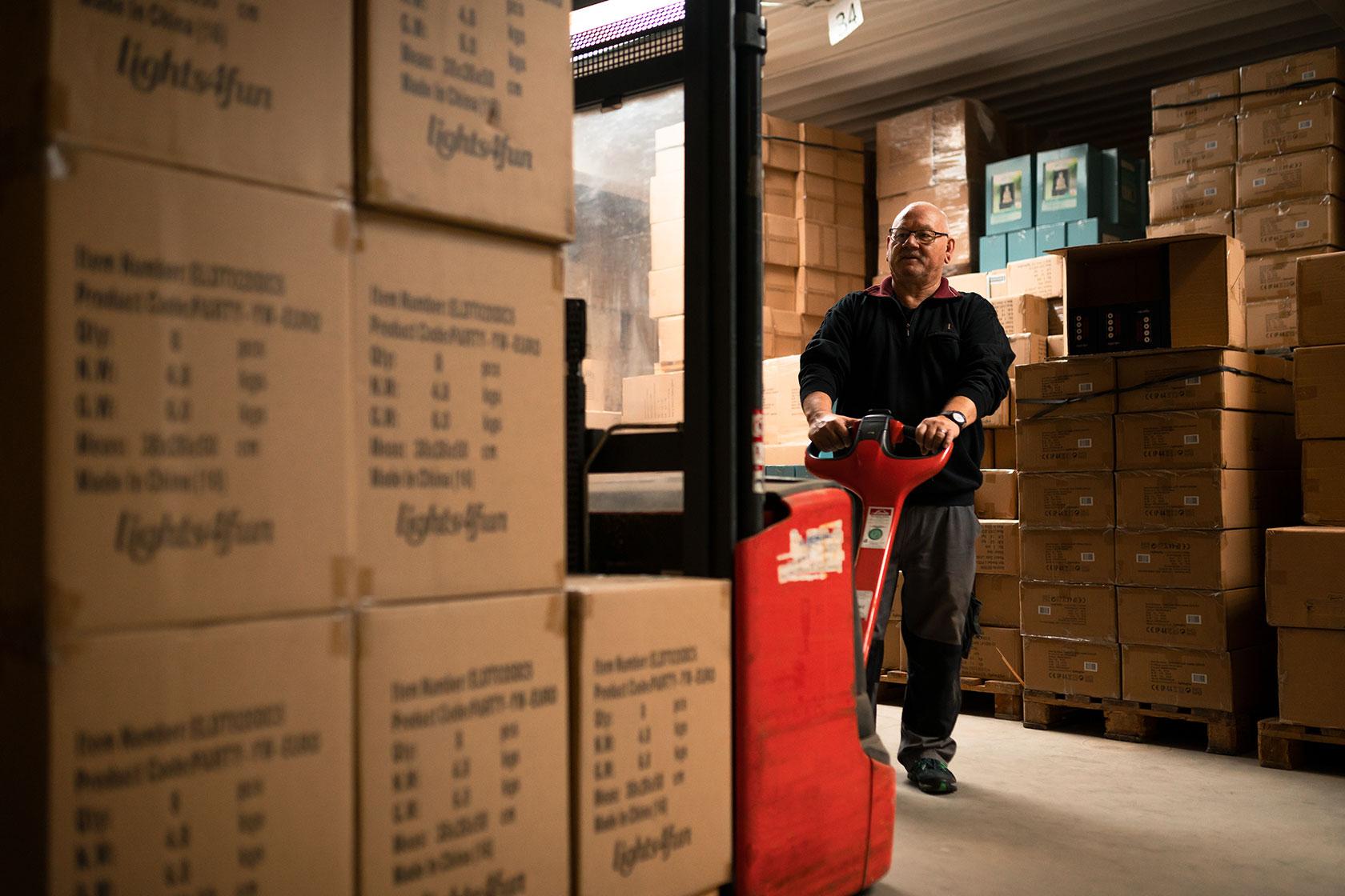 Business Lifestyle Fotografie - Während der Arbeit