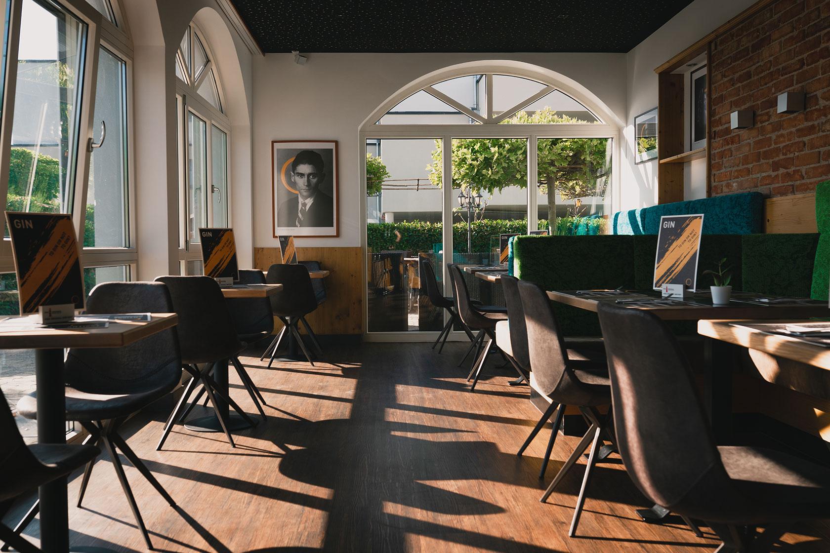 Räumlichkeiten wie Restaurants oder Büros perfekt abgelichtet