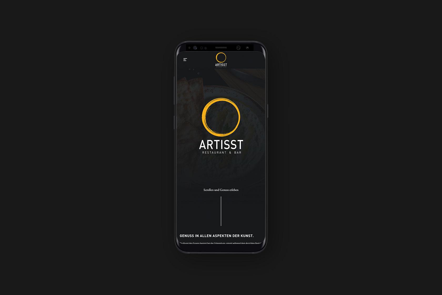 Responsive Webdesign für Artisst aus Wittlich