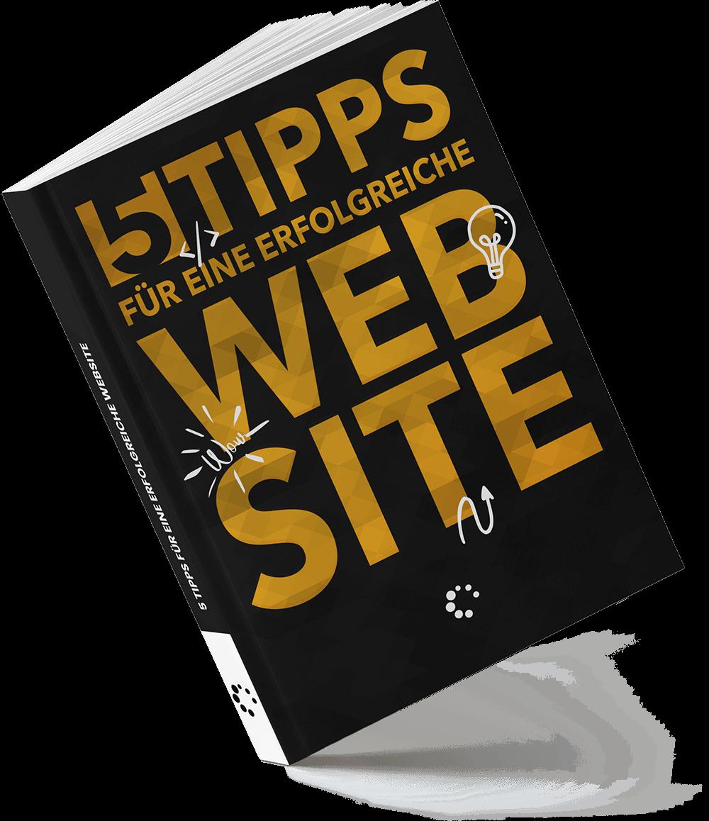 5 Tipps für eine erfolgreiche Website - Das kostenlose eBook von Steven Megerle