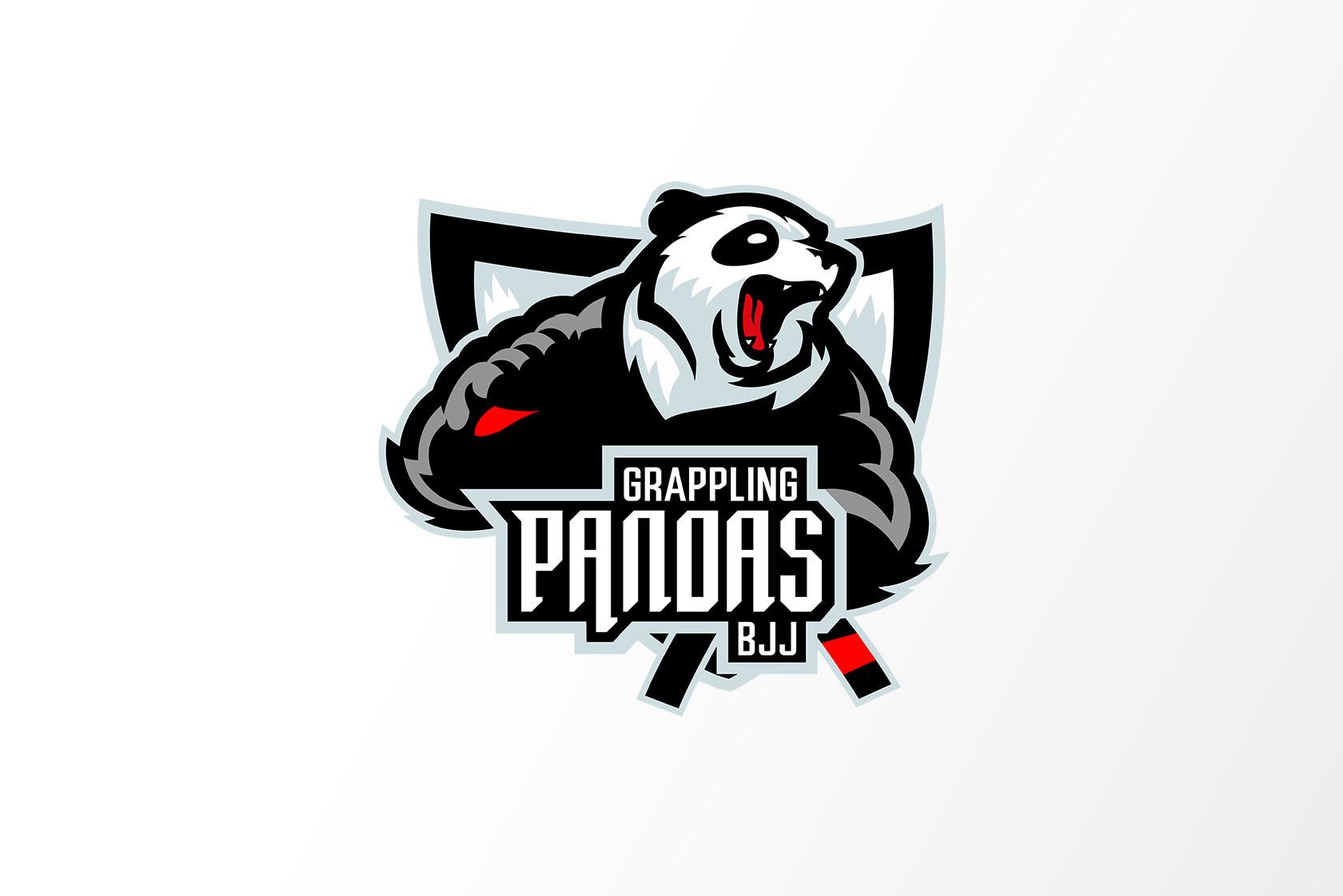 Logo von Grappling Pandas