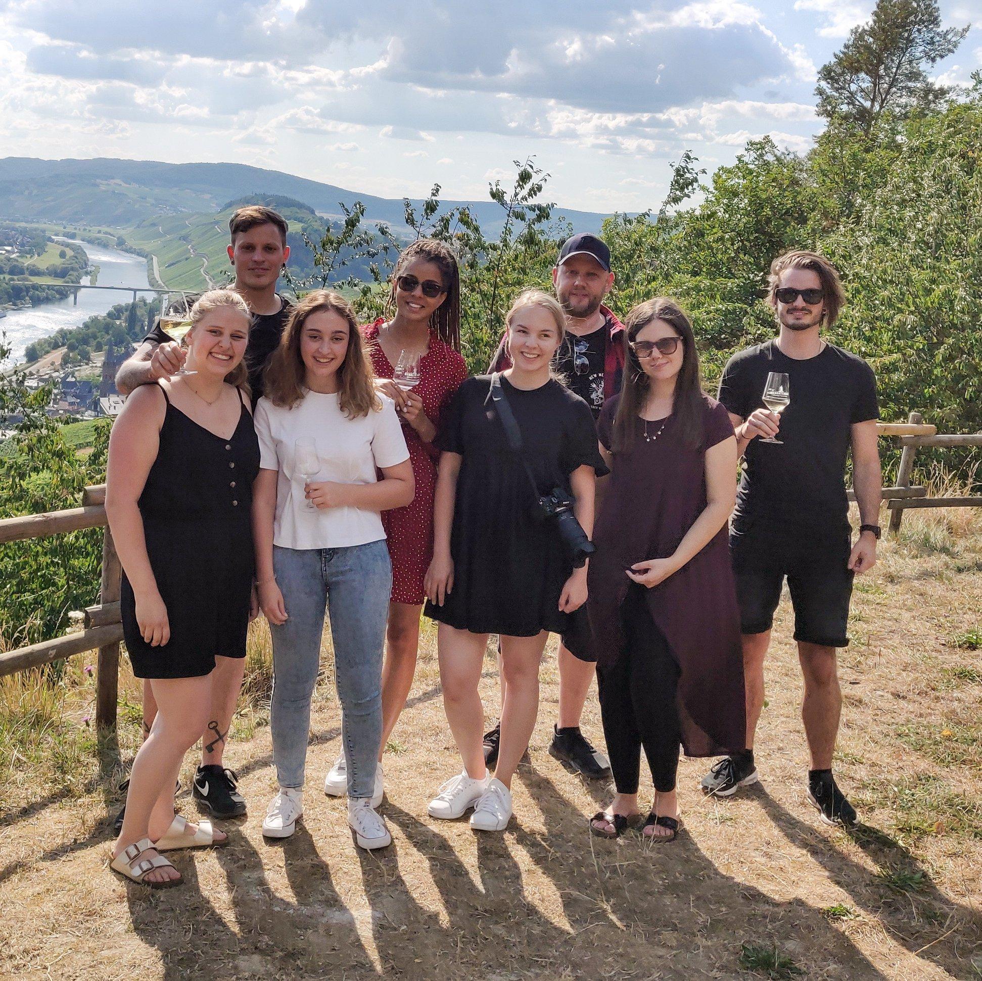 new media labs - Weinprobe im Bioweingut Hubertushof in Lieser