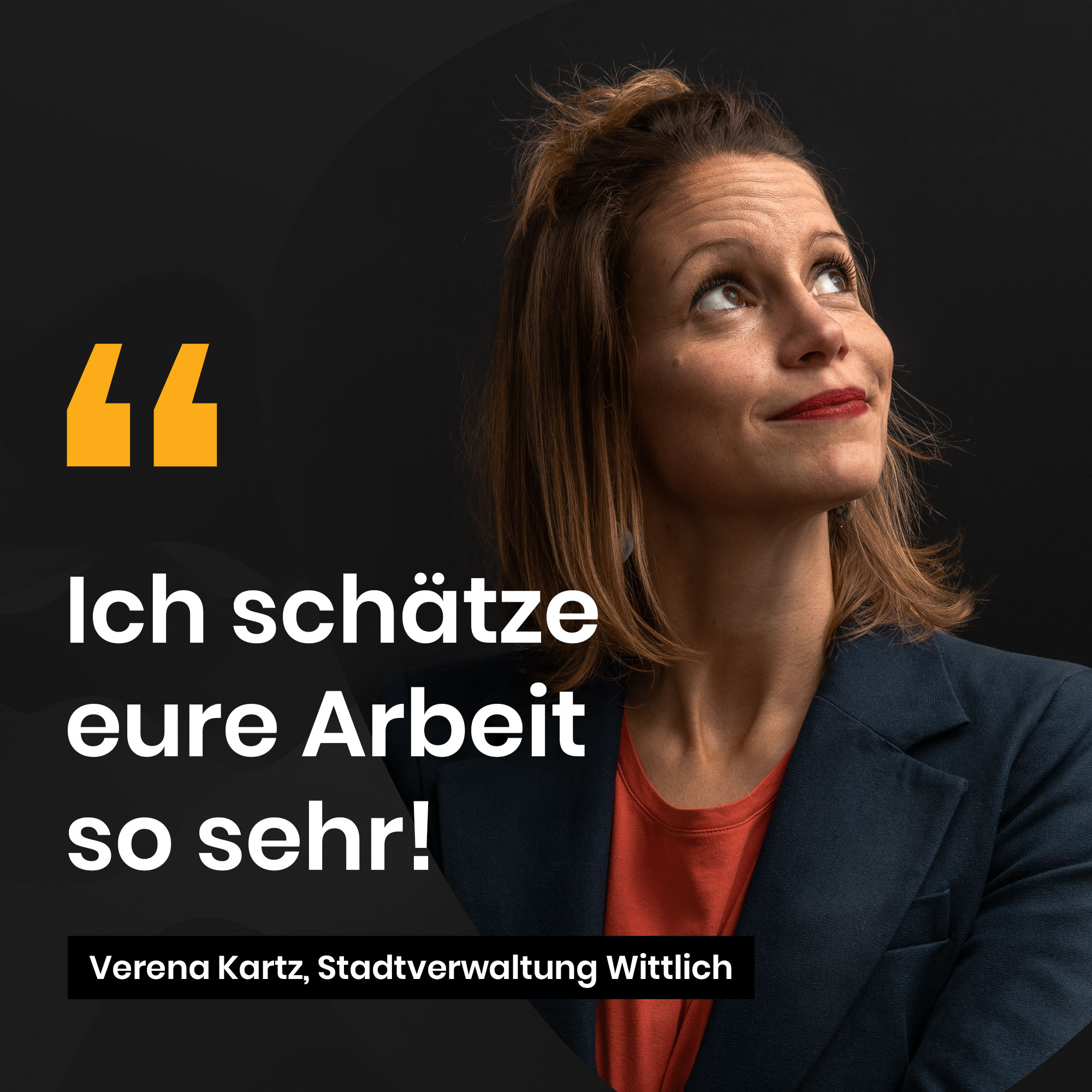 Verena Kartz, Stadtverwaltung Wittlich