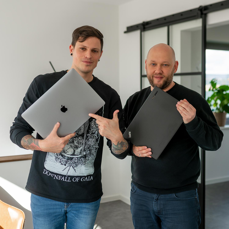 Steven und Timo - Mac und Windows