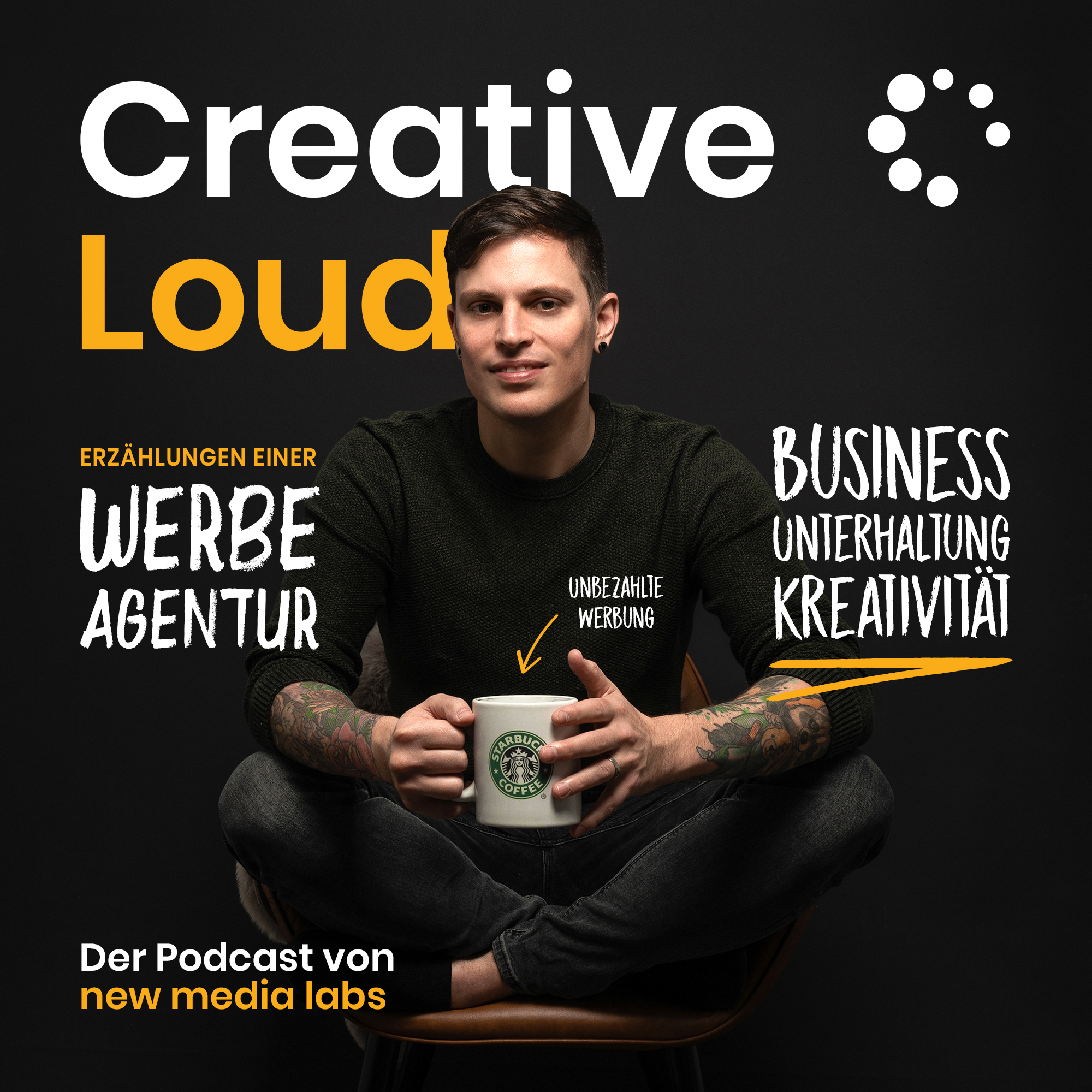 Creative Loud - Der Podcast von new media labs