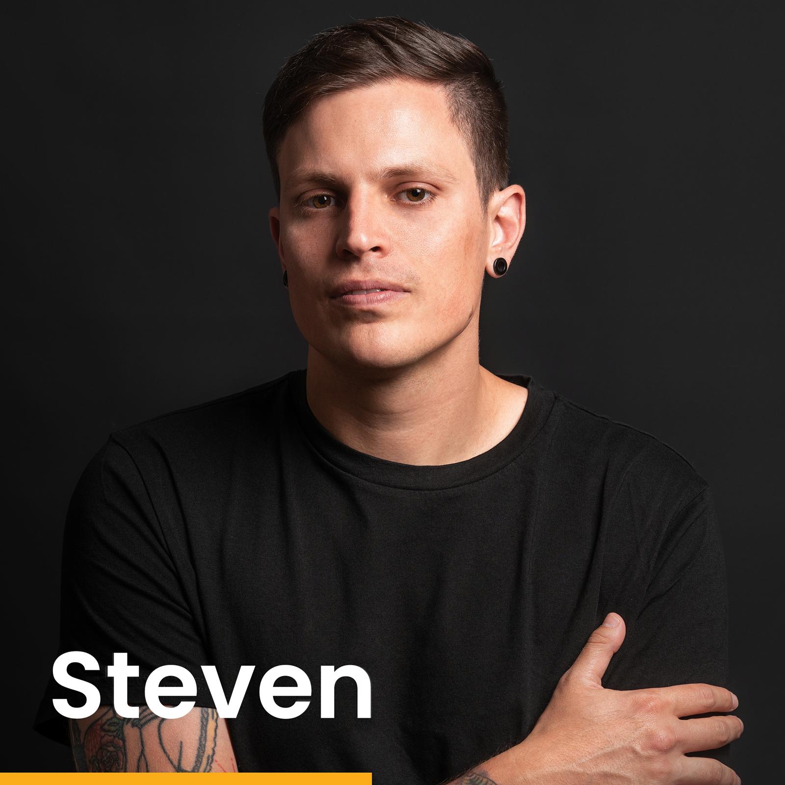 Steven Megerle - Inhaber und Grüner von new media labs