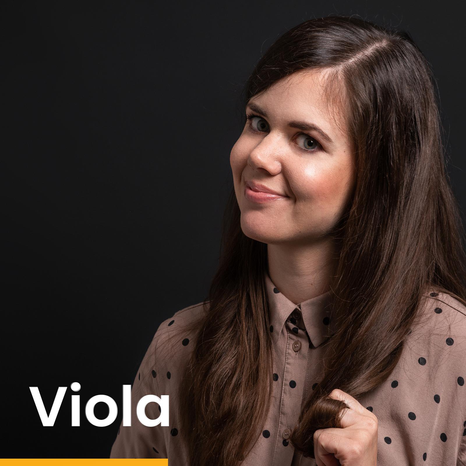 MOIN ✌ Das ist Viola ❤️