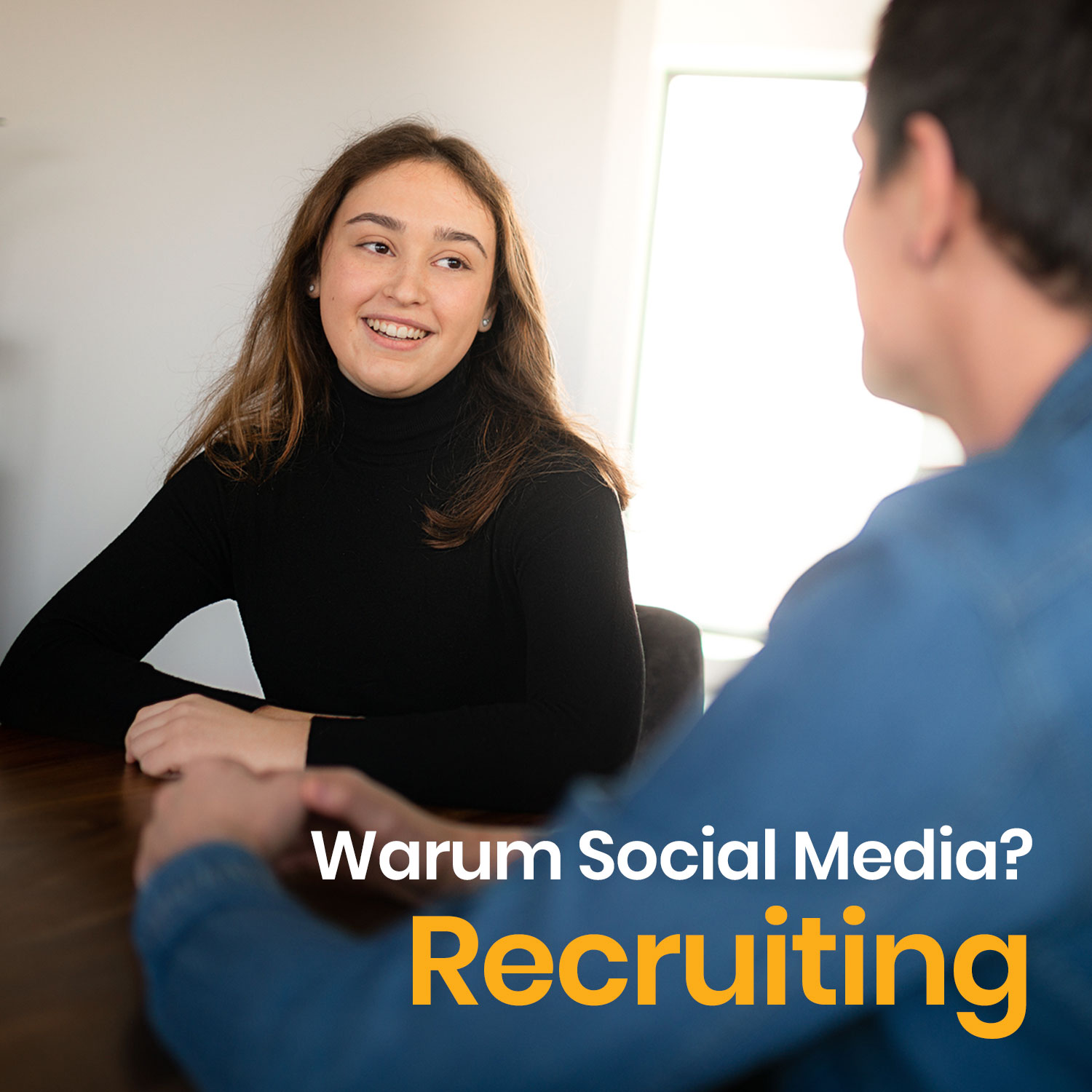 Warum Social Media? Recruiting