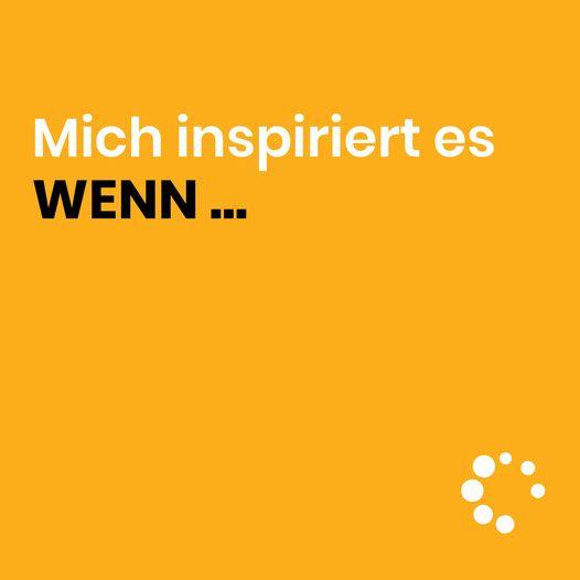 WAS INSPIRIERT DICH? 🤩
