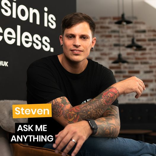 ASK ME ANYTHING ☝️ mit STEVEN