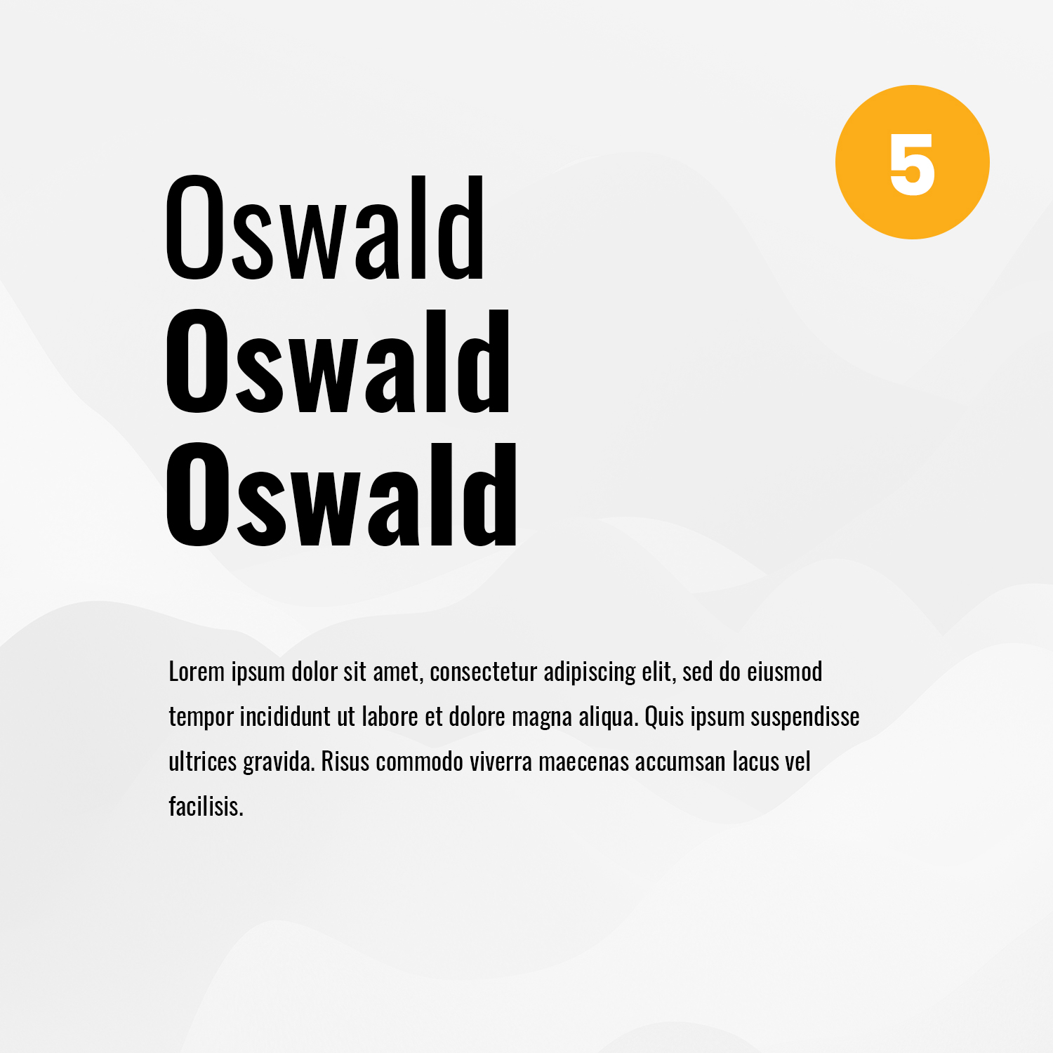 UNSERE TOP 5 GOOGLE FONTS